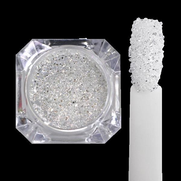 Decorative ''pixie'' stones – clear color 1.1mm