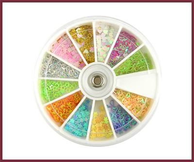 Various Decorative Shapes Wheel