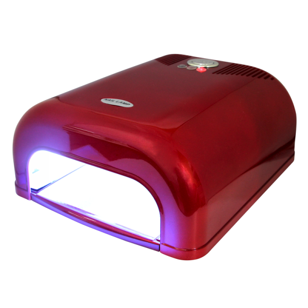 36 Watts UV Lamp with 90-120sec Timer (Induc) – Red 110V
