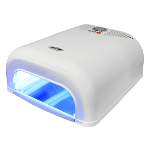 36 Watts UV Lamp with 90-120sec Timer (Induc) – White 110V