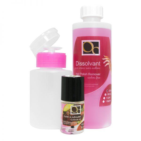 Acetone Free Nail Polish Remover 250 mL