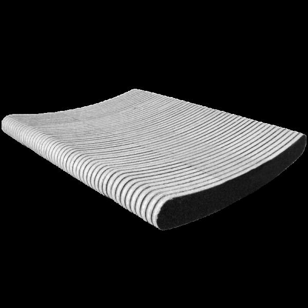 Black banana nail file 80/80 (50 units) LCN80/80/50
