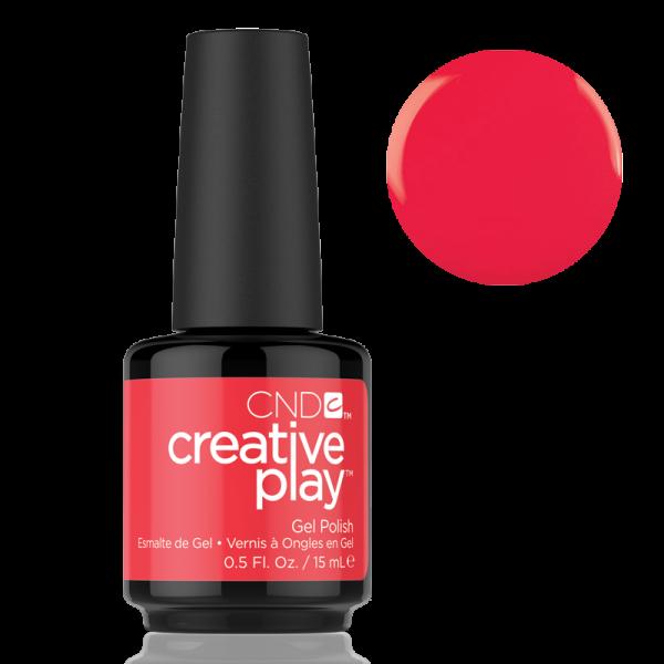 CND Creative Play Gel Polish #453 Hottie Tomattie 0.5oz