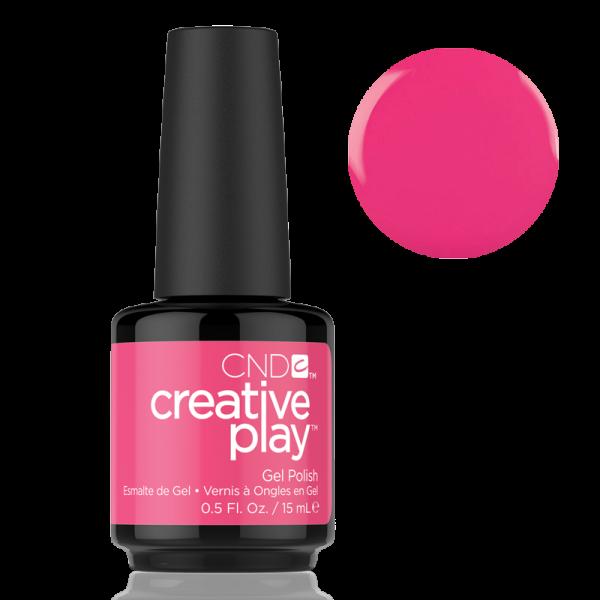 CND Creative Play Gel Polish #474 Peony Ride 0.5oz