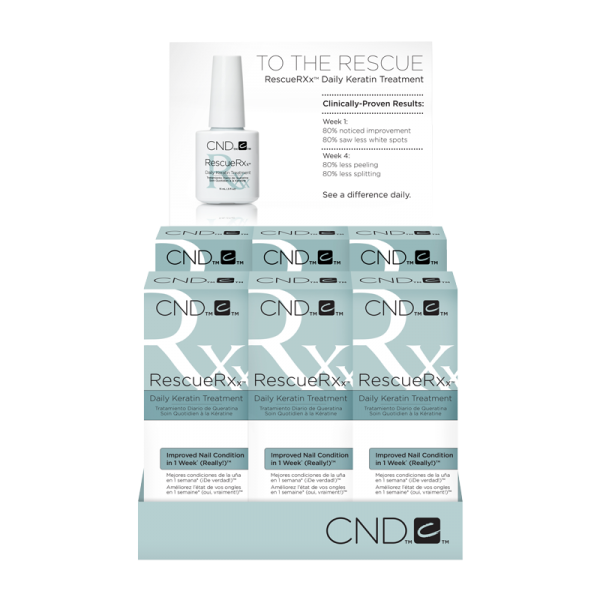 CND Rescue Rxx Daily Kerattn Treatment (6 x 1/2oz)