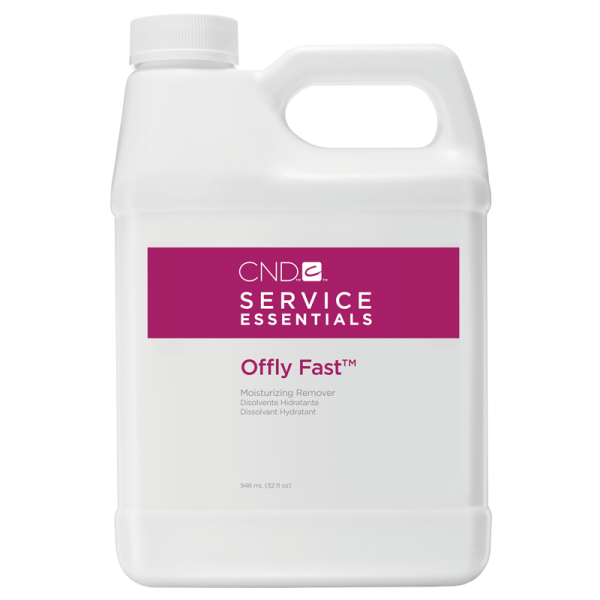 CND Service Essentials Offly Fast Moisturizing Remover 32oz