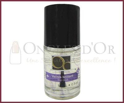 Clear Top Coat – Ongles d'Or 15 ml
