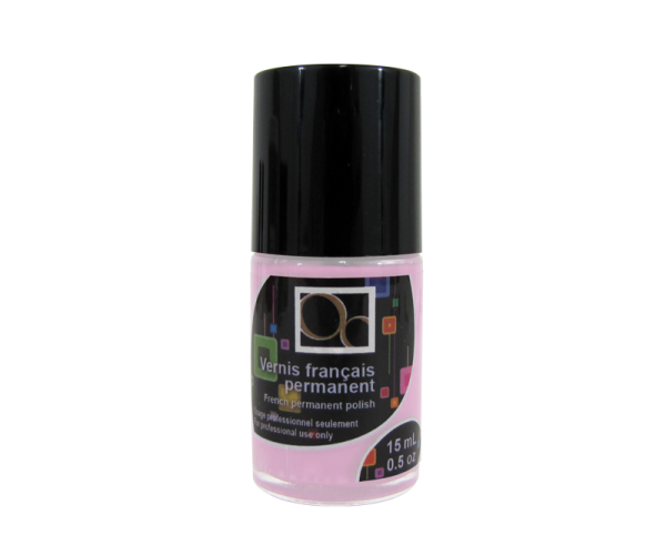 French Permanent Polish Baby Pink 15 ml