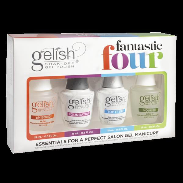 Gelish Gel Polish Fantastic Four – 4 Essentials Kit
