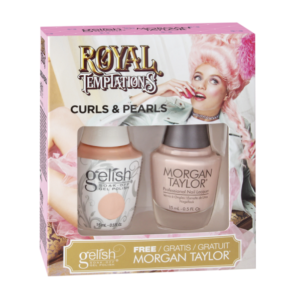 Gelish Gel Polish + Morgan Taylor Curls & Pearls 15 mL