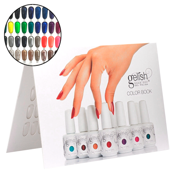 Gelish Unpainted Color Book