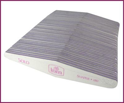 INM Nail File Solo White 180/180, 50 pcs (INMSFM50)