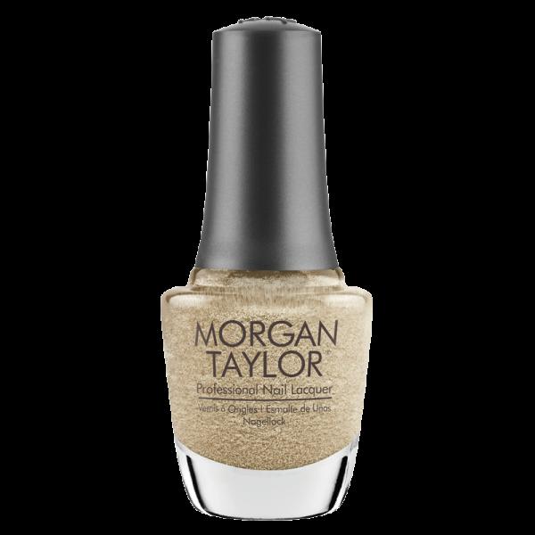 Morgan Taylor Nail Polish Gilded in Gold 15mL