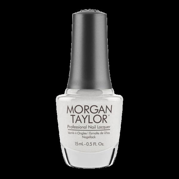 Morgan Taylor Nail Polish I'm Drawing a Blanco 15mL