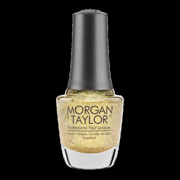 Morgan Taylor Nail Polish Ice Cold Gold 15mL
