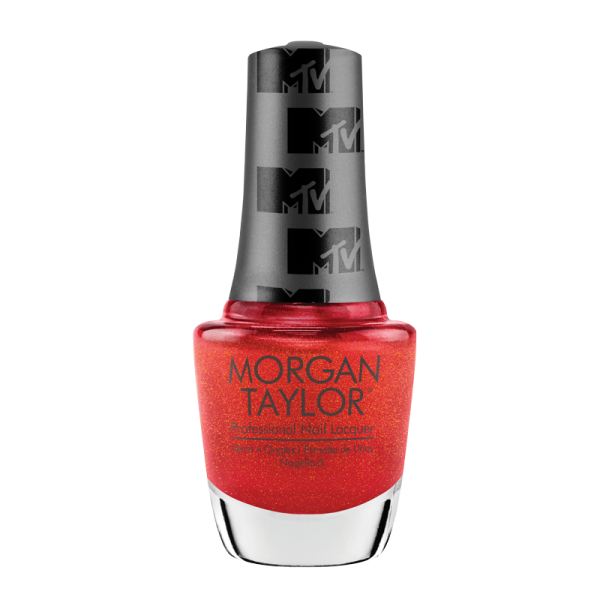 Morgan Taylor Nail Polish Total Request Red 15mL