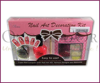 Nail polish (2) Kit and Decals Sheet (ADK206)