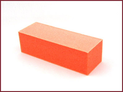 Orange Buffer Block (White Paper) (100/100) (Unit)