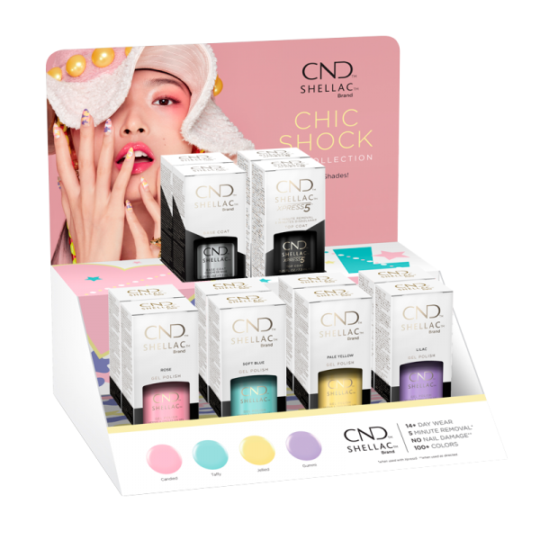 Shellac Display Chic Shock Collection