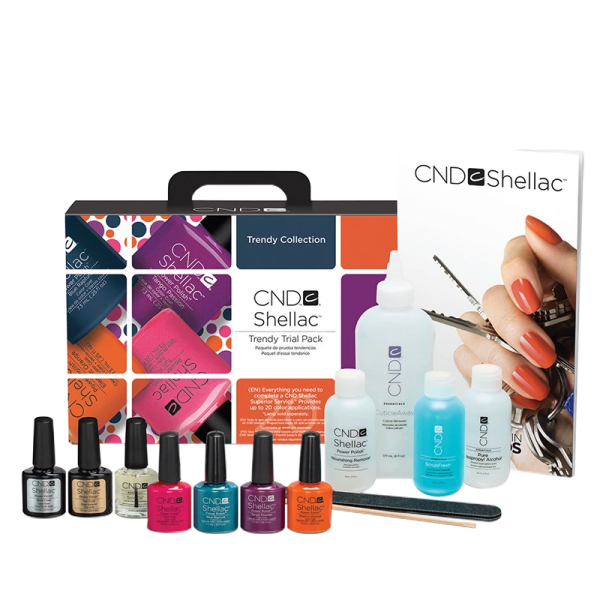 Shellac Intro Pack UV Polish Trendy Collection