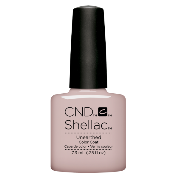 Shellac UV Polish Unearthed 7.3 mL (Nude coll. 2018)