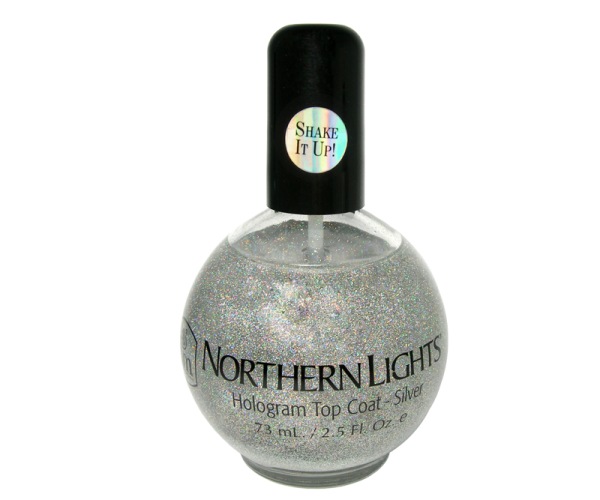 Silver Northern Light INM Top Coat 2.5 oz