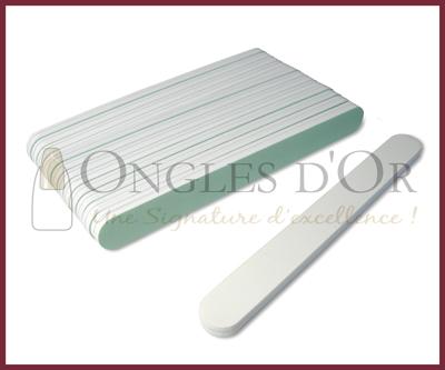 Sponge Polishing Nail File (2 sides) (12 pcs)