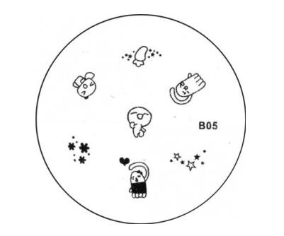 Stamping Image Plate B05
