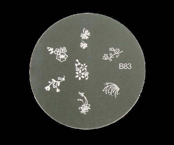 Stamping Image Plate B83