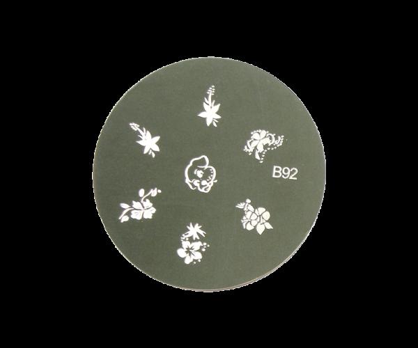 Stamping Image Plate B92
