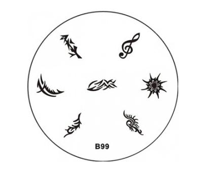 Stamping Image Plate B99