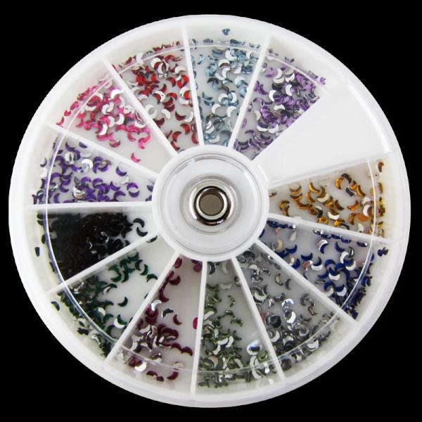 Stone Wheel – Moon Shape – Multicolore