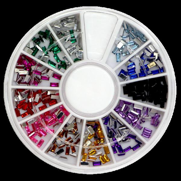Stone Wheel – Rectangular Shape – Multicolore