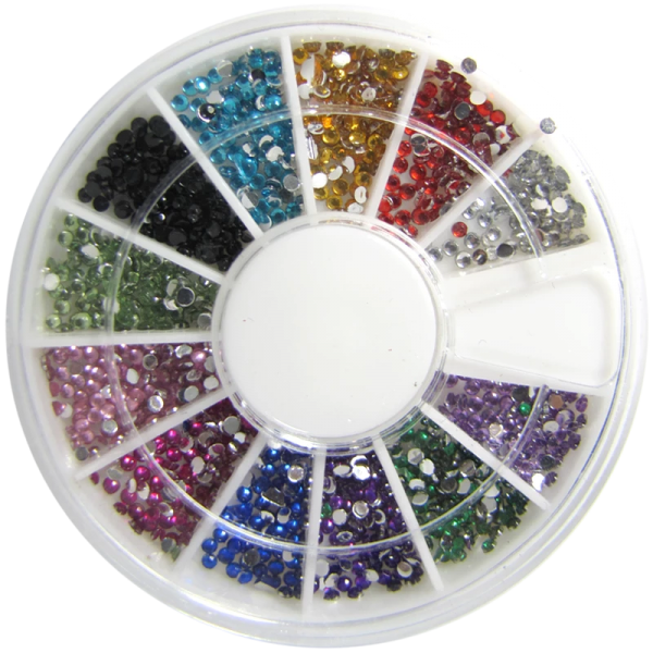 Stone Wheel – Round Shaped – Various Colors 1.5w