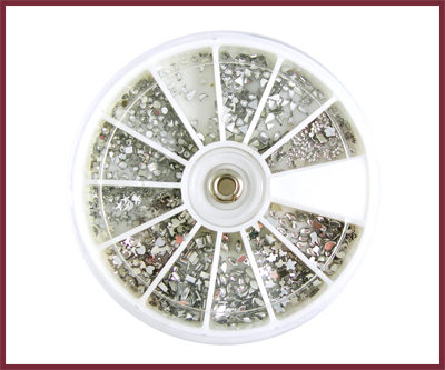 Stone Wheel – Various Shape and Colors (1200 pcs)