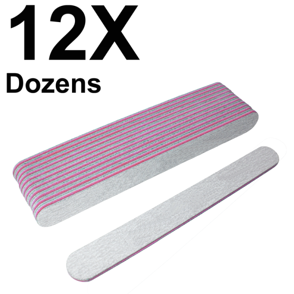 Straight Files Zebra 180/180 (12 Dozens) W