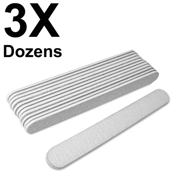 Straight Files Zebra 80/100 (3 Dozens) W