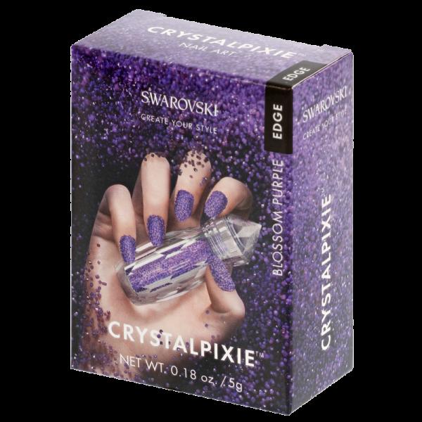 Swarovski Crystalpixie Edge Blossom Purple 5g