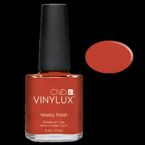 Vinylux Nail Polish 172 Fine Vermillion 15 mL CND